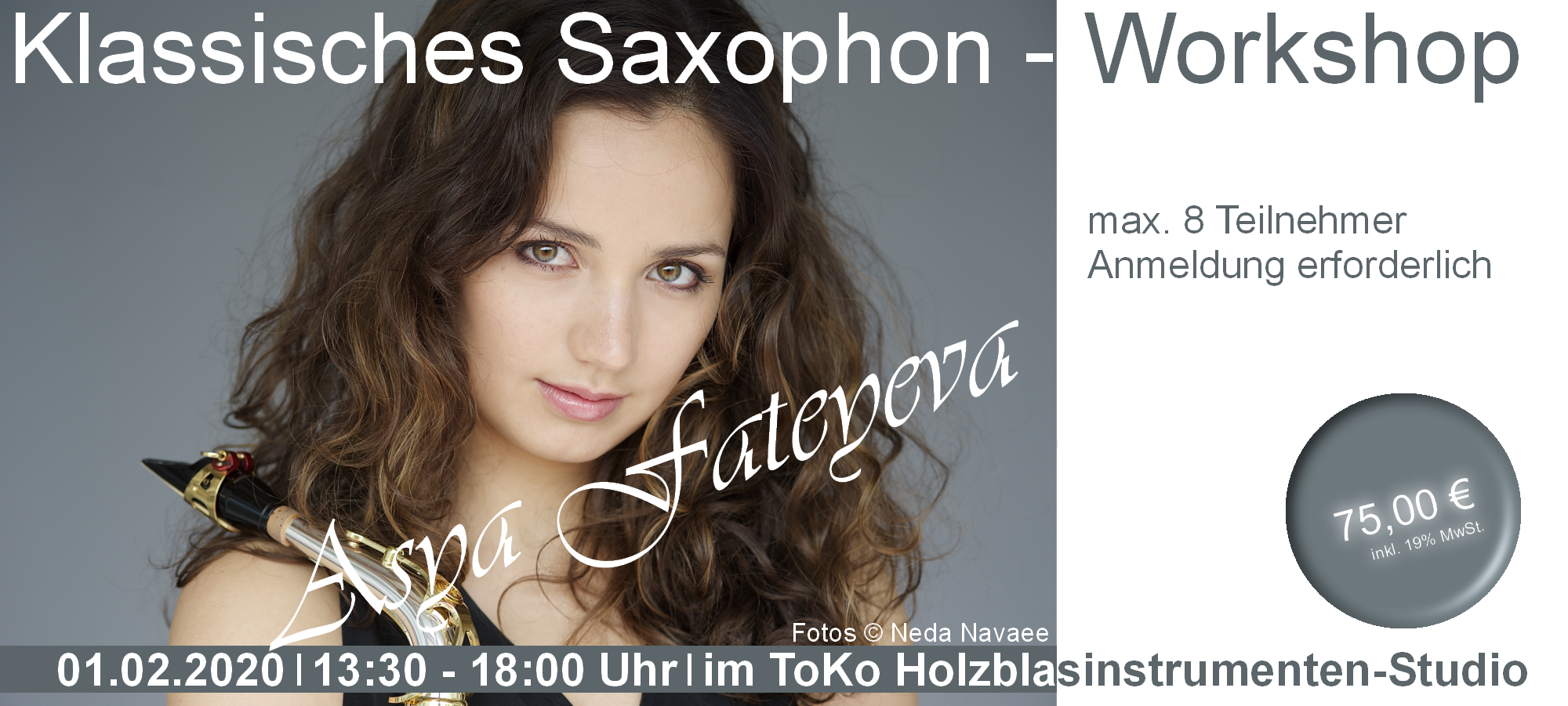 Klassisches Saxophon - Workshop